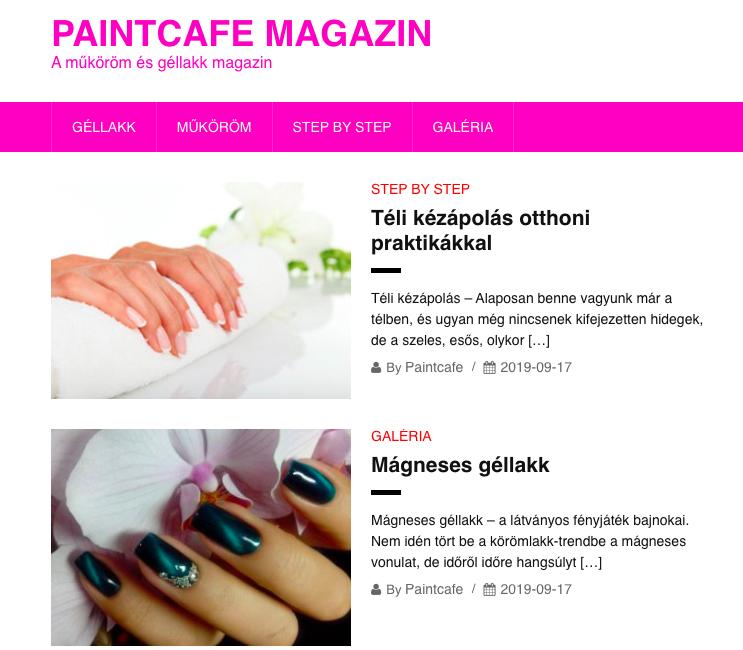 paintcafe.hu magazin